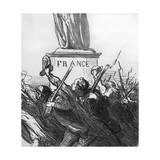 Going to War Lámina giclée por Honore Daumier