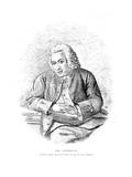 Dr Johnson Sketched Giclee Print by James Roberts