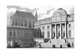 Paris, France - Palais de Justice Lámina giclée por J. Romney