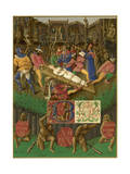 Apollonia (Fouquet) Giclee Print by Jean Fouquet
