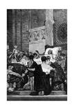 Death of St Genevieve Giclee Print by Jean-Paul Laurens