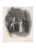 George III, Charlotte Giclee Print by J. Rogers