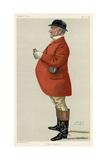 Mordaunt Fenwick Bisset, Vanity Fair Reproduction procédé giclée par Leslie Ward