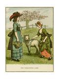 Illustration, the Ungrateful Lamb Giclee-trykk av Kate Greenaway