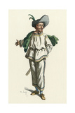 French Theatre, Tabarin Giclee Print by Maurice Sand