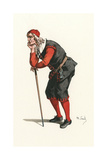 Moliere, L'Avare Giclee Print by Maurice Sand