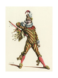 Capitaine Rodomont Giclee Print by Maurice Sand