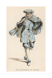 Moliere, Scapin Giclee Print by Maurice Sand