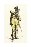 French Theatre, Fierabras Giclee Print by Maurice Sand