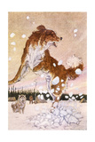 Jack London, Call of Wild Giclee Print by Paul Bransom