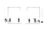 Boys Playing Cricket Reproduction procédé giclée par Mary Baker