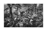 Charlemagne in Lombardy Lámina giclée por Paul Delaroche