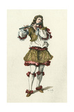 French Theatre, Symandre Giclee Print by Maurice Sand