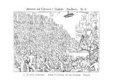 Owen Lecturing Lámina giclée por Richard Doyle