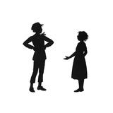 Dunderpate Tells Susan He Plans to Marry Reproduction procédé giclée par Mary Baker