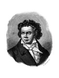 Beethoven Giclee Print by R Bong