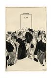 When Art Returns to Work Lámina giclée por Powys Evans