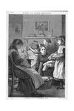Victorian Family Dress Reproduction procédé giclée par Robert Barnes
