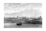USA, Chicago 1820 Giclee Print by Seth Eastman
