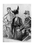 The Caillaux Trial by Paul Renouard Giclee Print by Paul Renouard