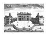 Buckingham House 1750S Giclee Print by Sutton Nicholls