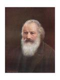 Brahms Giclee Print by Rudolf Klingsbogl
