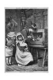 Pet Rabbits 1879 Reproduction procédé giclée par Robert Barnes