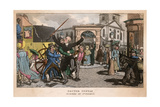 Dr Syntax Robbed in St Giles Giclee Print by Thomas Rowlandson
