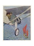 Lindbergh (Riesenberg) Giclee Print by Sidney Riesenberg