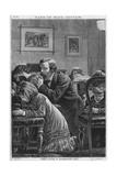 Family Prayer, Barnes Reproduction procédé giclée par Robert Barnes