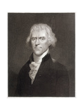 Thomas Jefferson Giclee Print by W Holl