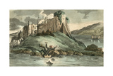 Dr Syntax Tumbling into the Water Giclee Print by Thomas Rowlandson