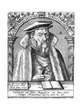 Modestinus Pistoris Reproduction procédé giclée par Theodor De Brij