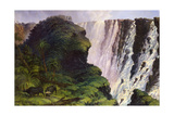 The Victoria Falls Giclée-tryk af Thomas Baines