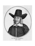 Sir William Dugdale 2 Giclee Print by Wenzel Hollar