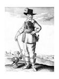 Robert 3rd Earl Essex Giclee Print by Wenzel Hollar