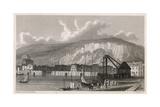 Dover Harbour Reproduction procédé giclée par W Westall