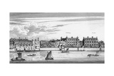 Durham House Etc. Giclee Print by Wenzel Hollar