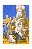 German Donkey, 1927 Giclée-Druck von Wilhelm Schutz