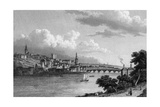 Newcastle Upon Tyne Reproduction procédé giclée par W Westall