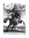 Johann Von Werth Giclee Print by Wenzel Hollar