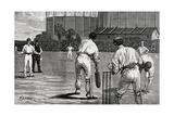 Cricket Match, England V Australia at the Oval 1882 Reproduction procédé giclée par William Barnes Wollen