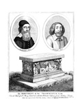 Tradescant Father and Son Giclee Print by Wenzel Hollar