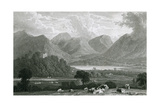 Derwentwater, Lake District Reproduction procédé giclée par W Westall