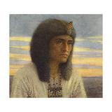 Horemheb, Pharaoh Lámina giclée por Winifred Brunton