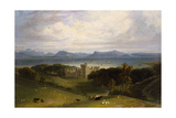 A View of Armadale Castle Giclee Print by William Daniell