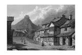 Launceston, Cornwall Reproduction procédé giclée par W Westall