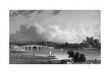 Rochester, Kent Reproduction procédé giclée par W Westall