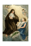 Sainte Francoise Giclee Print