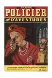 Books, Mystery Fiction Giclee-trykk